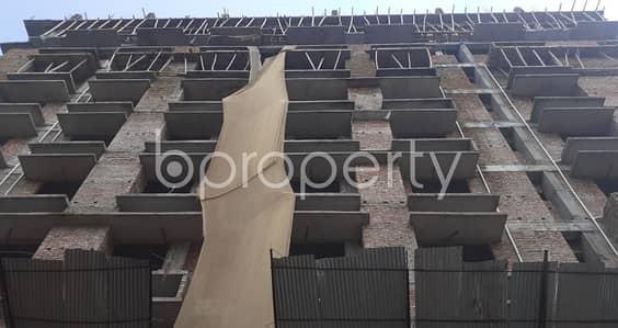 4 Bedroom Apartment for Sale in Banasree, Dhaka - 4 Bedroom Nice Flat In Banasree Is Now For Sale Nearby Faizur Rahman Ideal Institute.