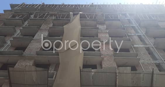 4 Bedroom Apartment for Sale in Banasree, Dhaka - This 2003 Square Feet Flat In Banasree Very Near To Faizur Rahman Ideal Institute With A Convenient Price Is Up For Sale