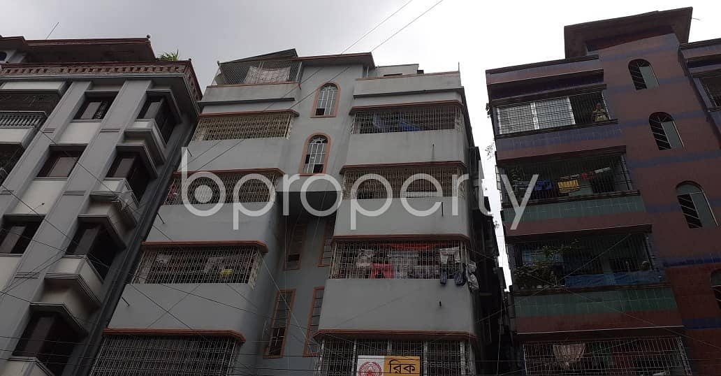 Nice 600 SQ FT flat is available to Rent in Khilgaon