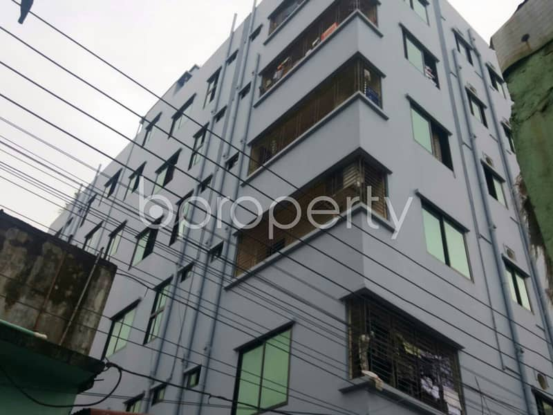 Nice 950 SQ FT flat is available to Rent in Bayazid