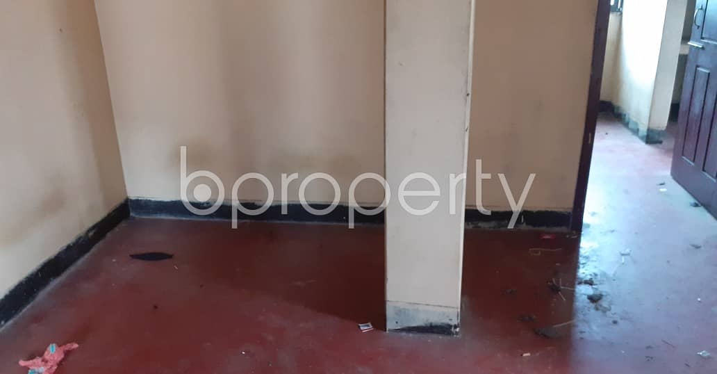A Perfect Flat Of 900 Sq Ft For Living With Family Is Available For Rent At Kazir Dewri