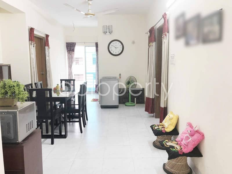 A Reasonable Flat Is Up For Sale In Dhanmondi Near Madhubazar Jame Masjid