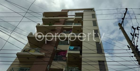 2 Bedroom Flat for Rent in Double Mooring, Chattogram - An Apartment Of 820 Sq. Ft For Rent Is All Set For You To Settle In Shamoly Residential Area