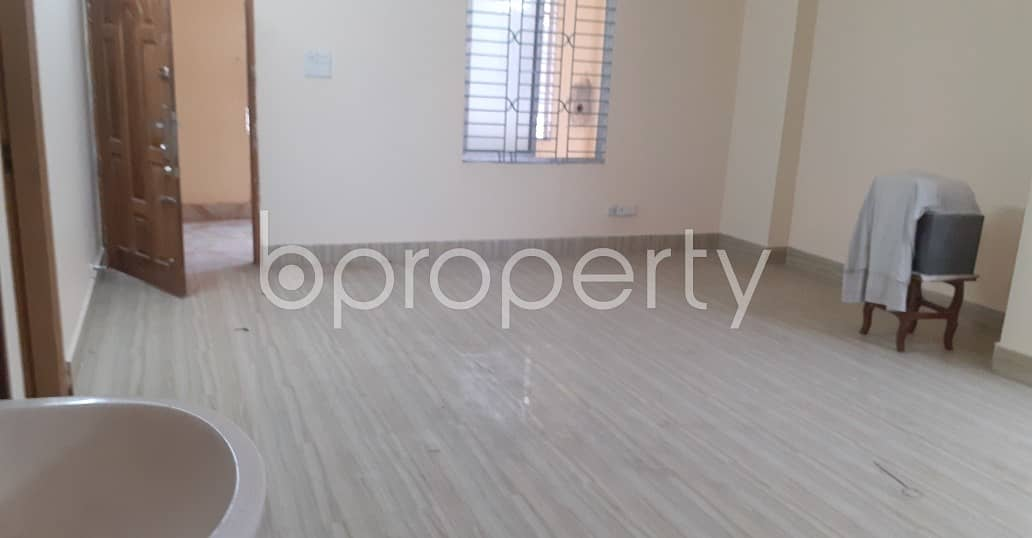 A Rightly Planned 1300 Sq Ft Flat Is Found For Rent In Kazir Dewri