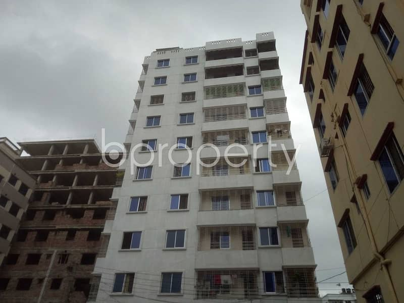 A 1120 Sq. Ft Flat Is Now Up For Sale Located Near To Sayednagar Model School