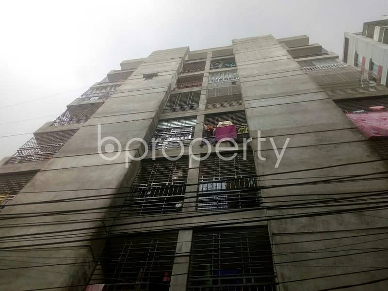This 1175 Sq. Ft Flat Near By South Badda Jame Masjid With A Convenient Price Is Up For Sale