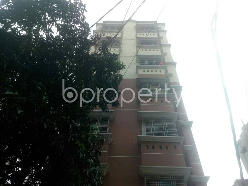 Comfortable, Convenient And Well-constructed 1300 Sq. Ft Flat Is Ready For Sale At South Badda Road