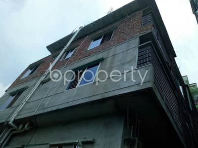 2 Bedroom Flat for Sale in Gazipur Sadar Upazila, Gazipur - Convenient And Well-constructed 501 Sq Ft Flat Is Ready For Sale At Tongi