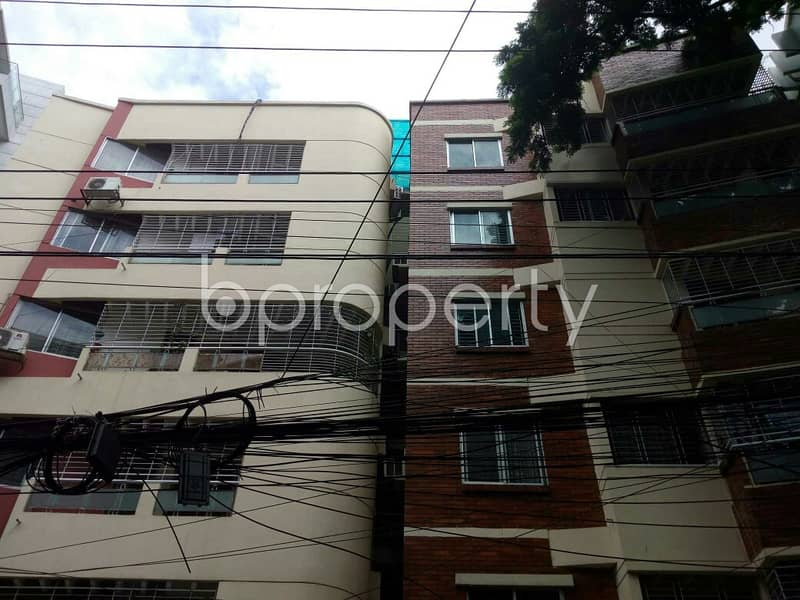Spaciously Designed And Strongly Structured This Apartment Is Now Vacant For Sale Nearby Banani Bidyaniketan School & College