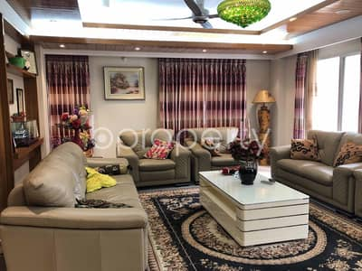5 Bedroom Duplex for Rent in Bashundhara R-A, Dhaka - 3600 Sq. Ft. Magnificently Luxurious Duplex For Rent In Bashundhara R-A Near North South University