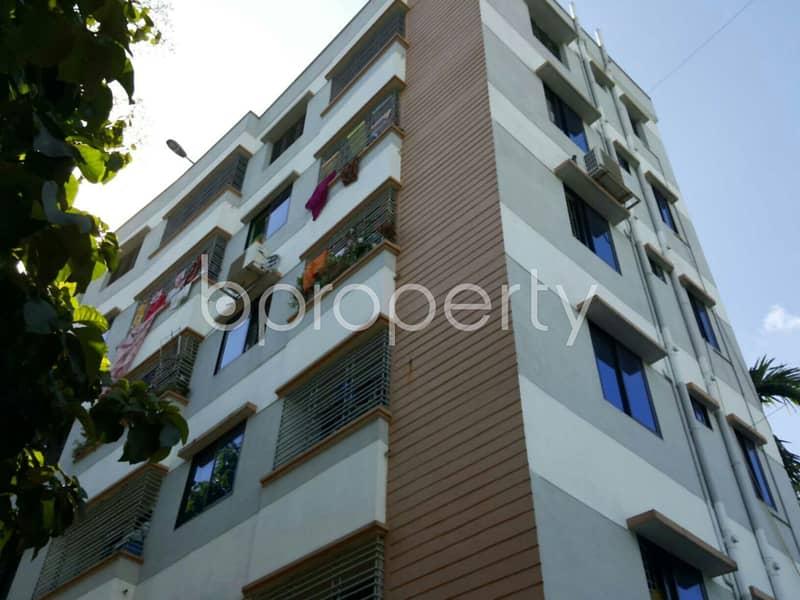 Close To Bangla Bazar Boro Pahar Jame Mosjid 1050 Sq Ft Ready, Comfortable And Nice Flat Is For Sale At Bayzid.