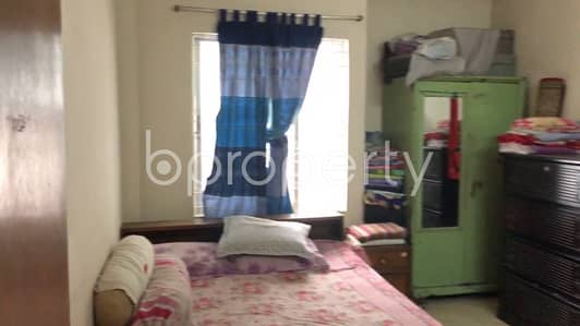 Comfortable Flat Is Up For Sale In Mohammadpur Nearby U. h. International School