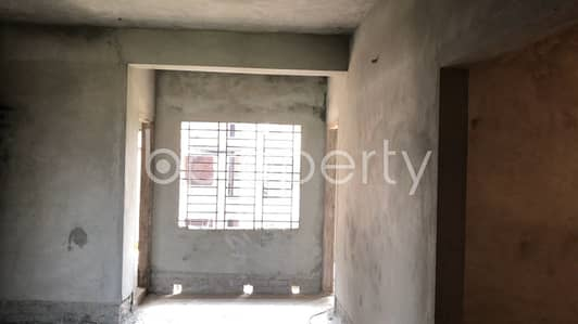 3 Bedroom Apartment for Sale in Aftab Nagar, Dhaka - Nearly Finished Apartment Is Up For Sale In Aftab Nagar, Near Eastern Bank Limited (ebl)