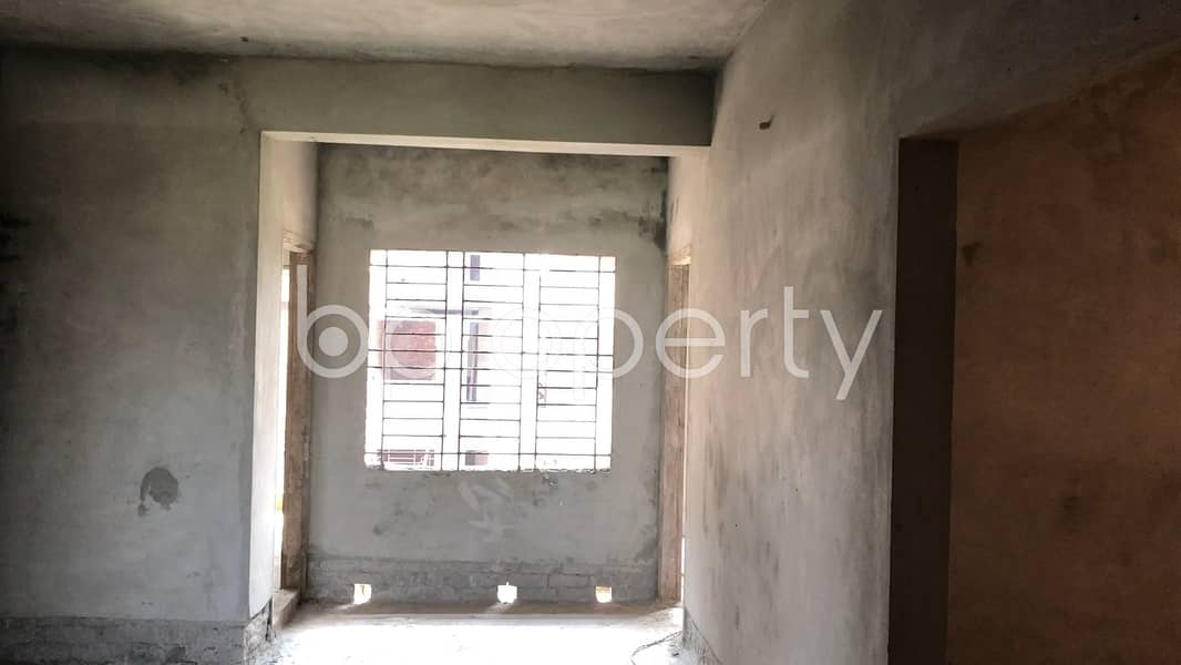 Nearly Finished 1650 Sq Ft Apartment Is Up For Sale In Aftab Nagar, Nearby Dhaka Imperial College