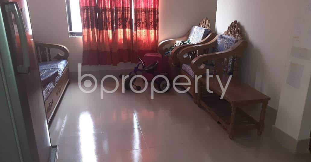 An Apartment Is Ready For Rent At Mohammadpur , Near Institute for Community Development.