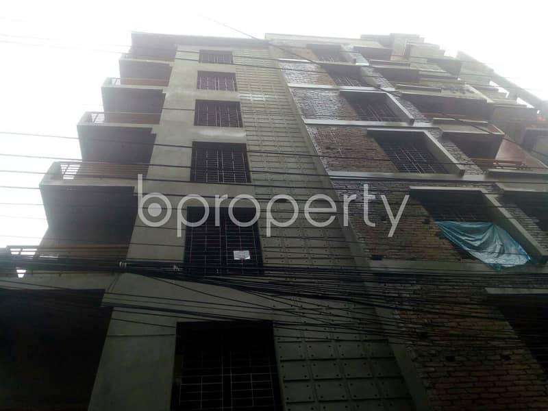 This 1230 Square Feet Flat In Merul Badda Road With A Convenient Price Is Up For Sale