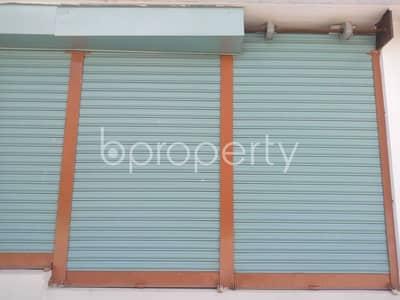 Shop for Rent in Aftab Nagar, Dhaka - A 900 Sq Ft Ready Shop Is Up For Rent In Aftab Nagar