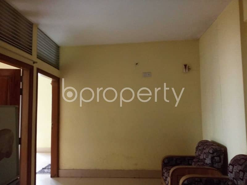 A well-constructed 1100 SQ FT apartment is ready to Rent in Sugandha Residential Area, Panchlaish