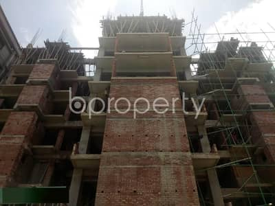 3 Bedroom Apartment for Sale in Aftab Nagar, Dhaka - 1536 Square Feet Under Construction Flat For Sale In Aftab Nagar .