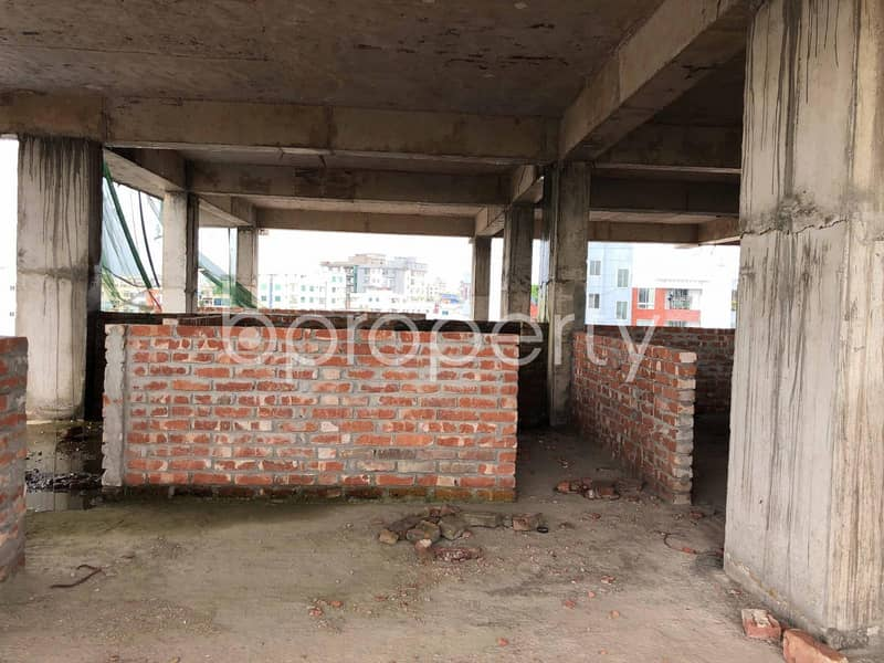 A Business Space Is Up For Rent In The Location Of West Sholoshohor Near Sonali Bank Limited