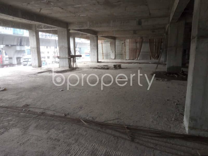 5000 Sq Ft Office Area Is Available To Rent In Road No 3, Mirpur 7