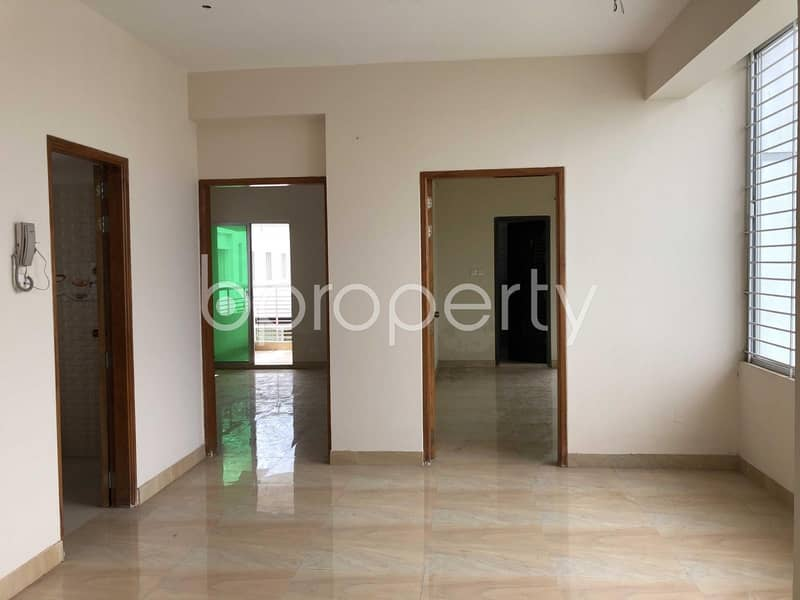 See This 1500 Sq Ft Beautiful Apartment And Make It Your New Home Which Is Up For Sale In Bashundhara R-A Nearby Kagojer Ishkool