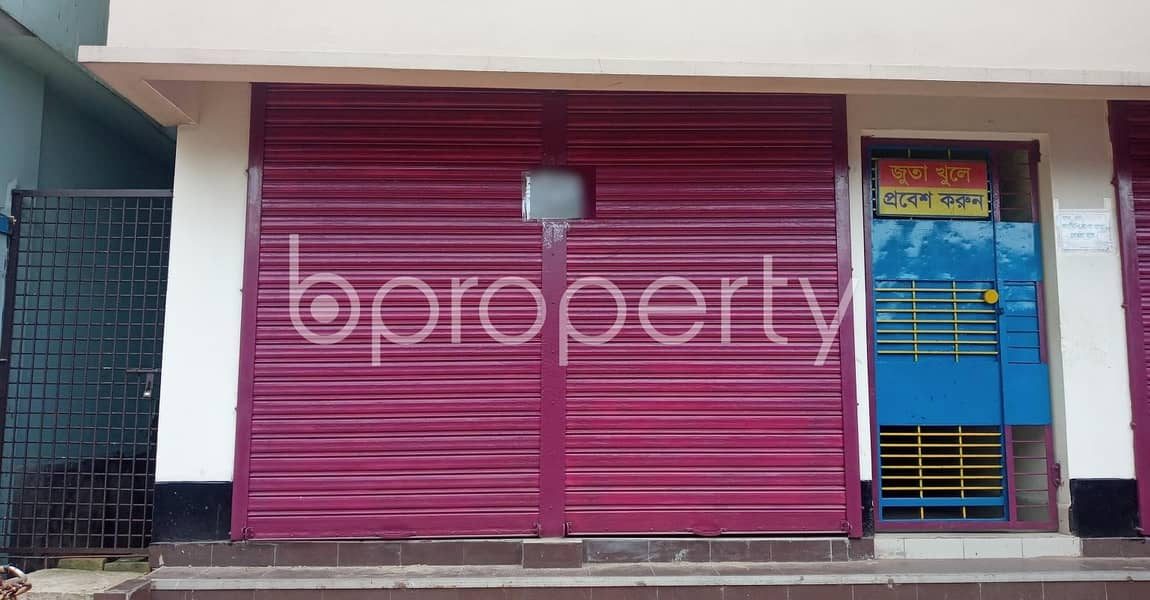 At Halishahar, 150 Sq Ft Well Fitted Shop Is ready To Rent