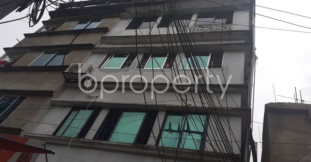 An Apartment Of 900 Sq. Ft Is Up To Rent In Alkoron Nearby Rupali Bank Limited