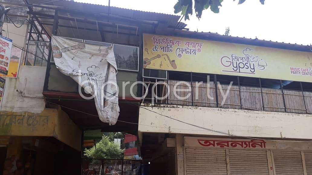 This 120 Sq. Ft Commercial Shop Ready For Rent At Halishahar Housing Estate.