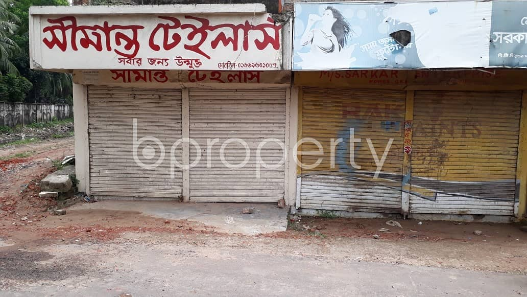 Acquire This 115 Sq. Ft Shop Which Is Up For Rent In Halishahar Near Cambrian School And College.