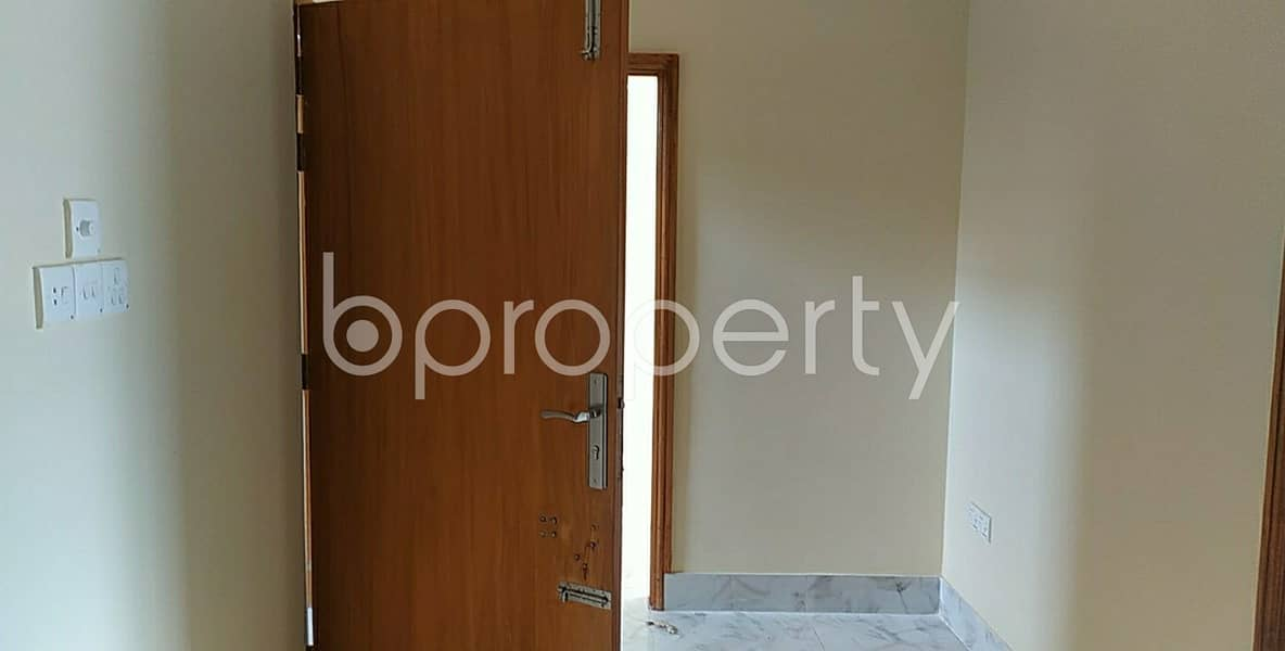 Reside Conveniently In This Well Constructed 800 Sq. Ft. Apartment For Rent In North Halishahar