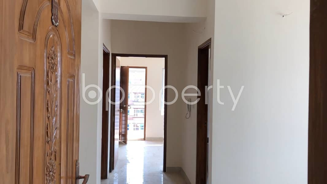 Moderate Apartment Is Up For Sale In Banasree Near To Mutual Trust Bank Limited