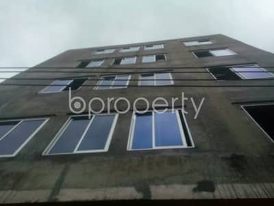 1 Bedroom Apartment for Rent in Badda, Dhaka - An Affordable 550 Square Feet Flat Up For Rent In Badda Very Near To Baitur Ridwan Jame Masjid