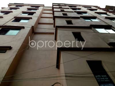 3 Bedroom Apartment for Rent in Gazipur Sadar Upazila, Gazipur - Well-constructed 800 Sq Ft Apartment Is Ready For Rent At Tongi