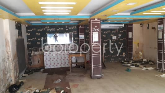 Shop for Rent in Halishahar, Chattogram - This 600 Square Feet Commercial Shop Ready For Rent At Halishahar Housing Estate