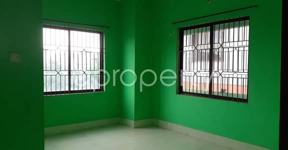 2 Bedroom Apartment for Rent in Dakshin Khan, Dhaka - An Attractive Apartment Is Up For Rent Covering An Area Of 1200 Sq Ft At Dakshin Khan