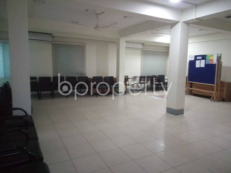 A 3600 Sq Ft Commercial Space Is Available For Rent In Mirpur Nearby Dhaka Bank.