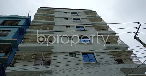 2 Bedroom Flat for Rent in Bakalia, Chattogram - Check This 950 Square Feet Moderate Apartment Ready To Rent At Kolpolok R/A