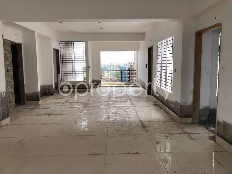 Grab This 2100 Sq Ft Brand new Flat Up For Sale In Bashundhara R-A Near Independent University, Bangladesh