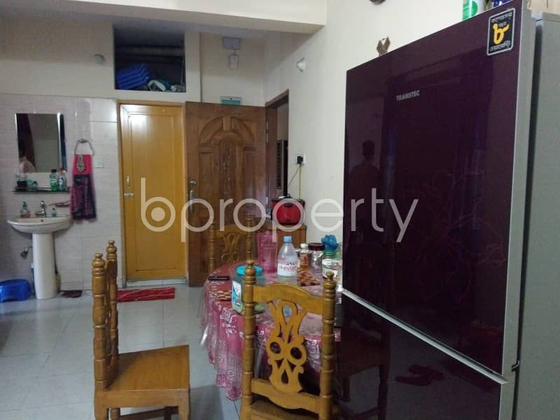 We Have A 935 Sq. Ft Flat For Sale In Donia Nearby Adarsha School