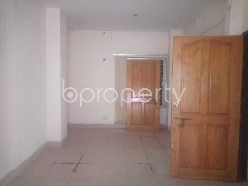 An Office Space Is Up For Rent Which Is Located In Aftab Nagar, Nearby Dhaka Imperial College.
