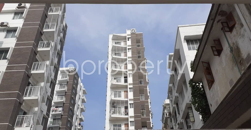 Properly Constructed Flat For Rent In West Dhanmondi, Near Holy Rose School & College