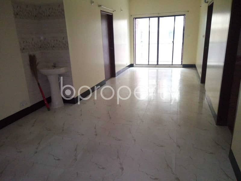 A Nice Flat With With 4 Bedroom Is Up For Sale In Mirpur DOHS , Avenue 11.