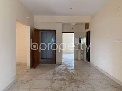 3 Bedroom Apartment for Sale in Aftab Nagar, Dhaka - In Aftab Nagar A Standard Flat Is For Sale Nearby Baitullah Jame Mosque