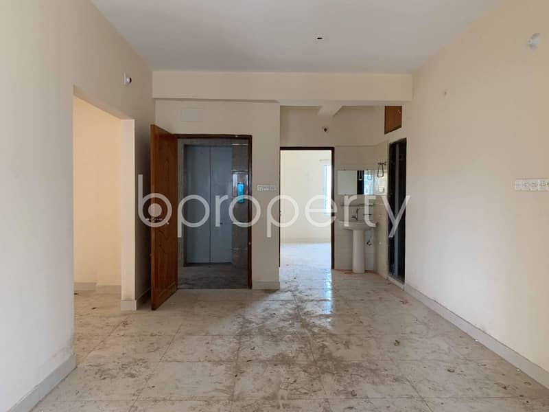 In Aftab Nagar A Standard Flat Is For Sale Nearby Baitullah Jame Mosque