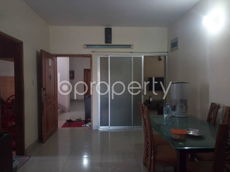 A well-constructed 1800 SQ FT apartment is ready to Rent in Bagmoniram