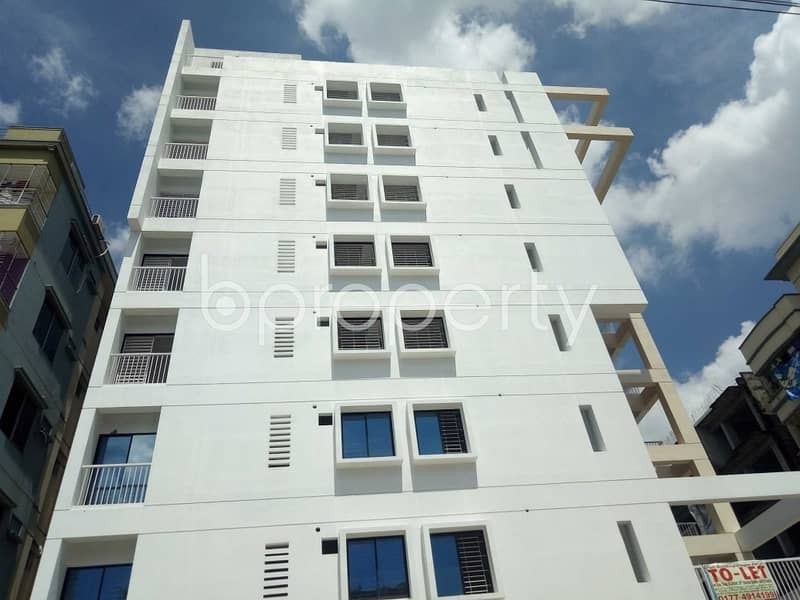 Acquire This 1250 Sq. Ft. Commercial Space Which Is Up For Rent In Uttara 10.