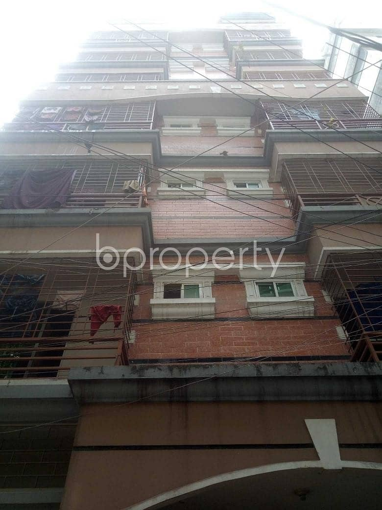 Available In Shahjadpur , A 850 Sq. Ft Apartment For Rent.
