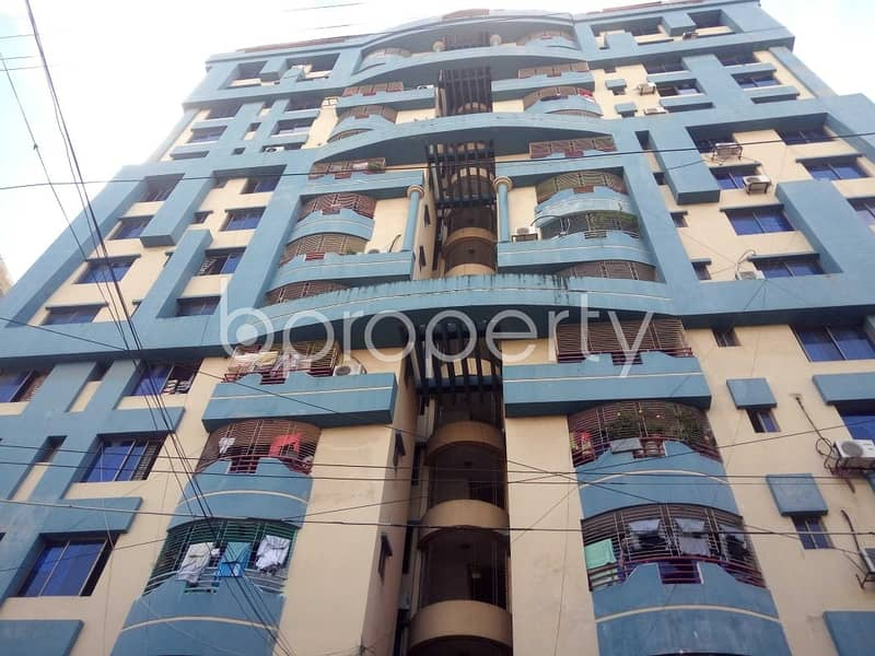 A Nice Flat Covering An Area Of 1350 Sq Ft Is Up For Rent In Mehidibag