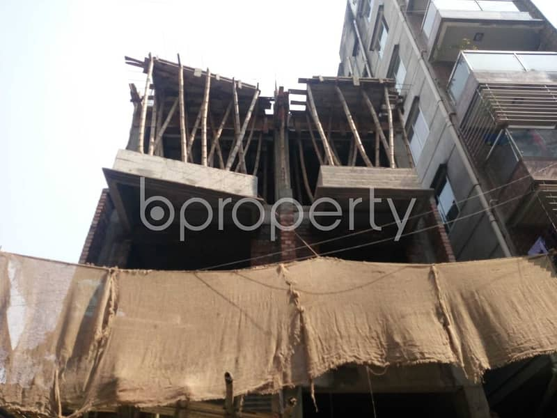 An Apartment Which Is Up For Sale At Kalachandpur Near To Govt. Kalachandpur School & College